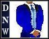 Full Men Blue Suit
