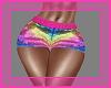 Sequin RainbowShorts RLS
