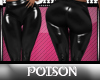 P( *RLL BlkLeather Pants