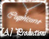 [A] Capricorn necklace