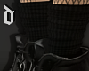 Black Layer Socks
