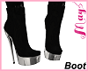 """Bimbo Boot Black May's"