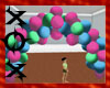 Bright Balloon Arch