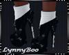 *Black White Boots
