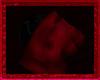 Red Kissing Pouf