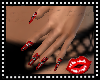 Vamp Red Nails