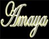 """""""Amaya"""" name art 2"""