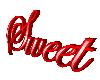 Sweet 3D Sign