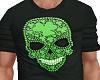Shamrock Skull