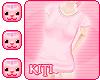 *Ki* Pink PJ Top