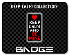 Be Mine Badge