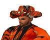 ORANGE CAMO COWBOY HAT