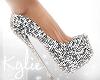 Disco Queen Silver Heels