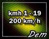 !D! 200 km / h
