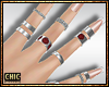 ck. Lavish Nails-Rings S