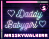 Daddy And Babygirl Neon