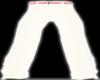 Gucci Wht/pink Tux Pants