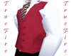 Vest In SilkRed Oval Eye
