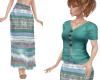 TF* Navaho Woven Skirt 2