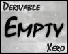 ✘. Empty Accessory