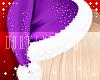 lJl Santa Hat Purple