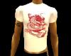 white tee wi red dragon