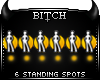 !B 6 Standing Spots