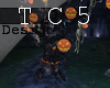 Halloween dance tree
