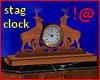 !@ Stag clock