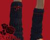 Black Socks & red ribbon