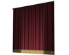 Stage - Red Main Curtain
