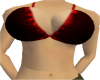 Apex red Satin bra