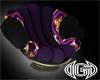 Purple~Gold Accent Seat