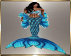 Blue Mermaid Outfit