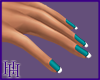 HH Turquoise French Tip
