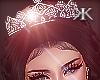 Winter wedding crown