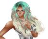 Hair Ash Blond Green 3