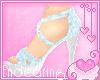 E)Sweet Blue Sandals