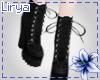 Black Emo Gothic Boots