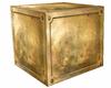 bronze.copper crate cube
