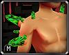Crystal shoulder spikesM