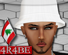 !4 White Classic Hat