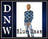 NW Blue Xmas Sweater