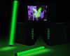 Room TV Retro Green