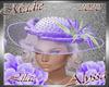 !a Alyssa Lilac Hat
