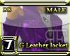 [BE] G LEATHER JACKET P
