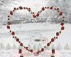 Poseless Red Rose Heart