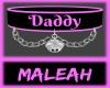 Daddy Collar: Pink
