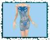 xAx ~Aqua Floral Dress~