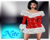 red s winter dress